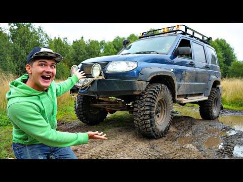 Купили автомобиль на аукционе за 600 тысяч рублей, а это оказался огромный внедорожник!