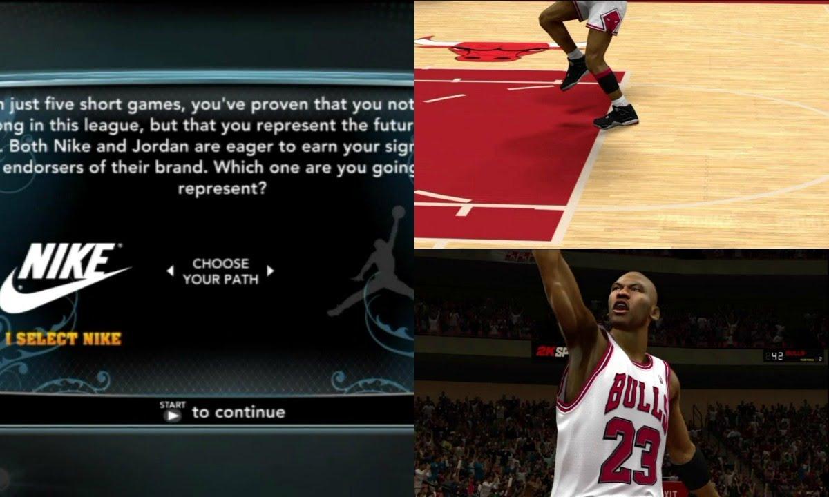 sale retailer 2dac0 1bcf7 NBA 2K13 MyCAREER  Team Nike or Team Jordan   2K Shoe Editor + Welcome  Letter   ft Michael Jordan - YouTube