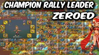 Champion Rally Leader Account Zeroed - Lords Mobile