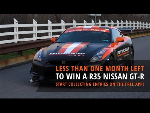 [MotorCrush App SWEEPSTAKES BUILD] LESS THAN A MONTH LEFT To Enter for a R35 Nissan GT-R!