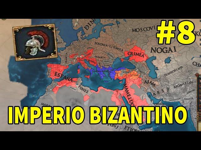 Nos Quieren Muertos - Bizancio #8 - Europa Universalis IV 1.31