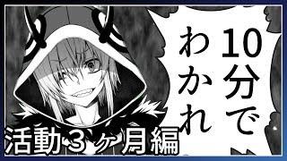 死神屍鬼を10分でわかれ!【活動3ヶ月編】