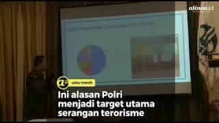 Alasan polri menjadi target utama serangan terorisme