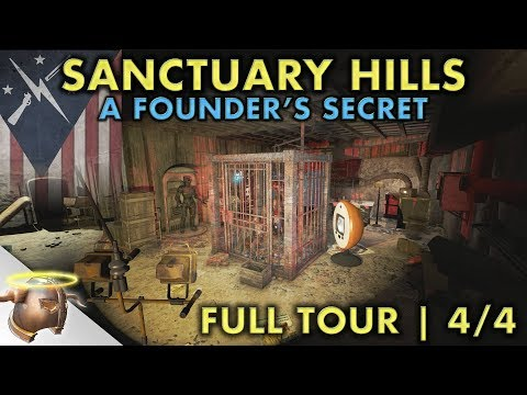 THE SECRET OF SANCTUARY HILLS | Part 4 - Huge, realistic Fallout 4 settlement and lore