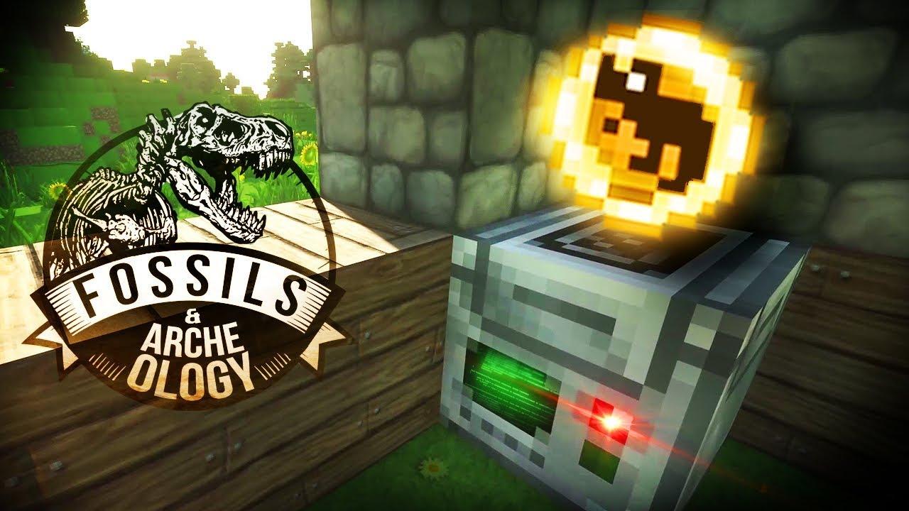 BINGO! DINO DNA! Ceratosaurus Found! | Minecraft Dinosaurs (Part 1)