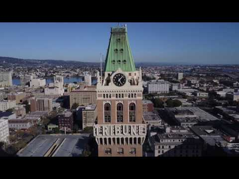 Drone Oakland, California: Downtown Oakland (DJI Mavic Pro)
