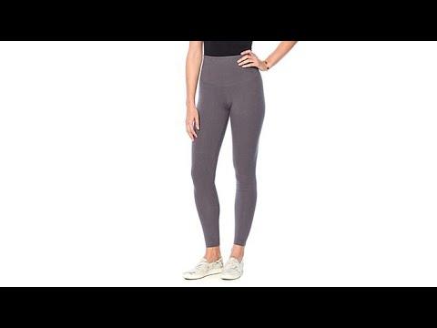 1f0eff4a1b9705 Yummie Rachel Compact Cotton Legging - YouTube