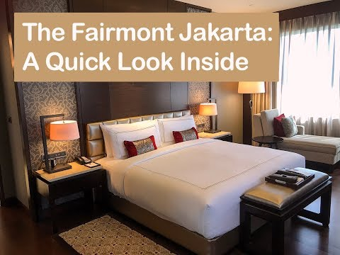 Fairmont Jakarta: A Quick Look at This New Luxury Hotel