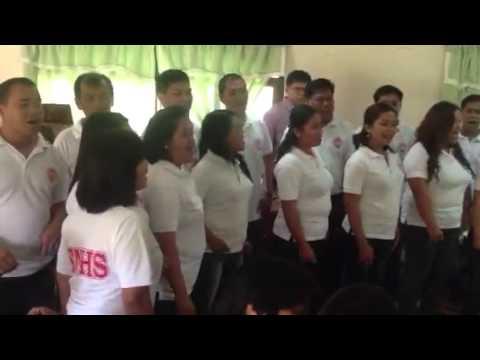 Teachers choir of Ilocos Sur National High