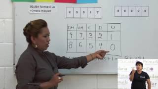 Primaria 3º y 4º clase: 49 Tema: Descomposición aditiva
