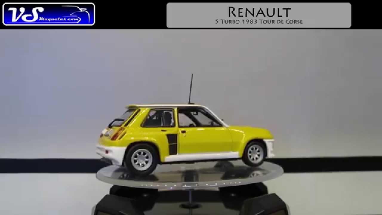 renault 5 turbo 1983 tour de corse universal hobbies escala 1 43 youtube. Black Bedroom Furniture Sets. Home Design Ideas