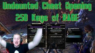 Undaunted Chest Opening - 250 Keys of Rage