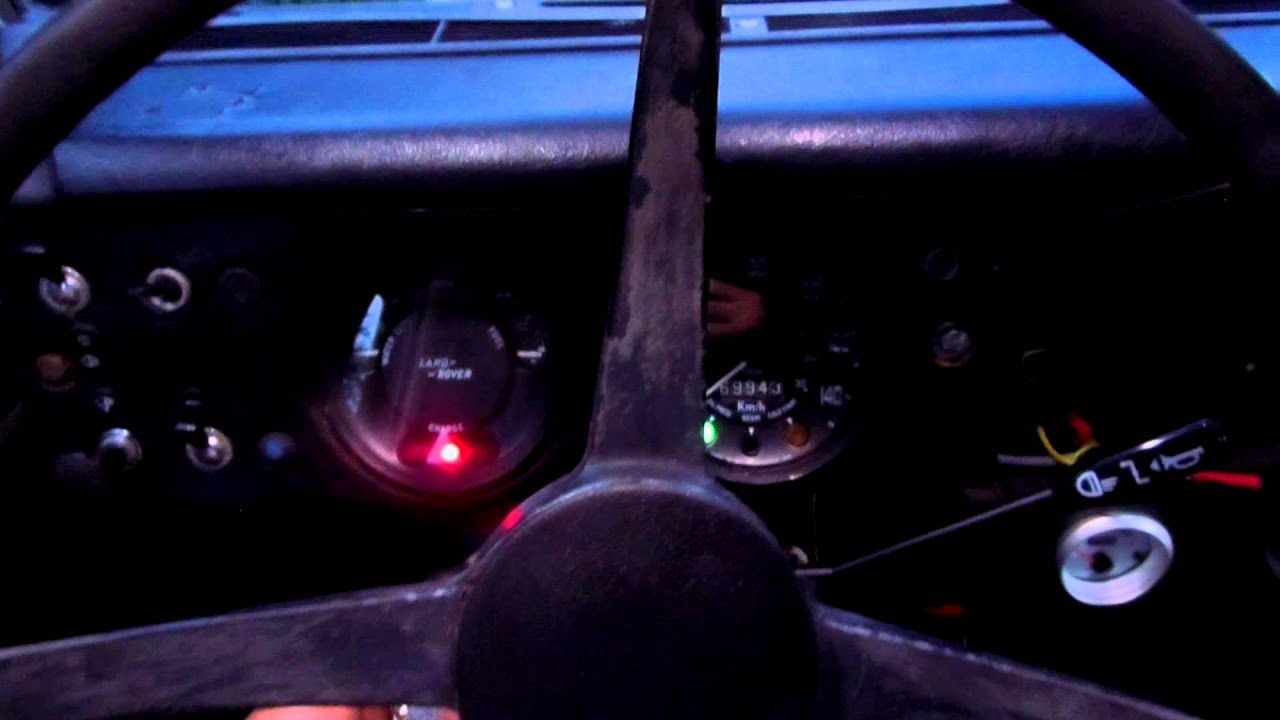 Ikea interior lights Land Rover 109 series III - YouTube