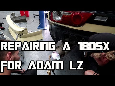 damage report on Adam LZ 180sx and fix