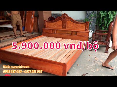 bộ nội thất phòng ngủ giá rẻ