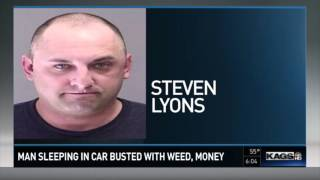 Man sleeping in car busted with 10 pounds of marijuana