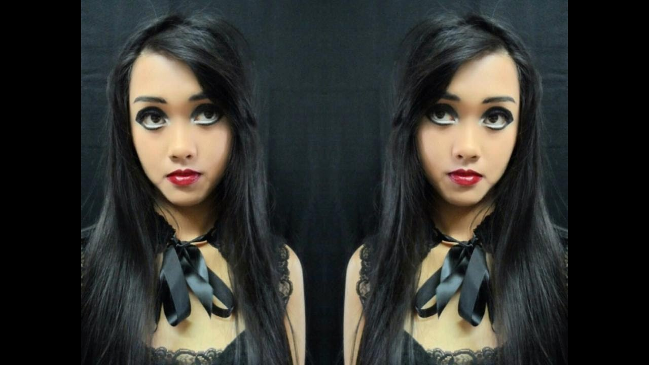 Gothic Doll Makeup Tutorial