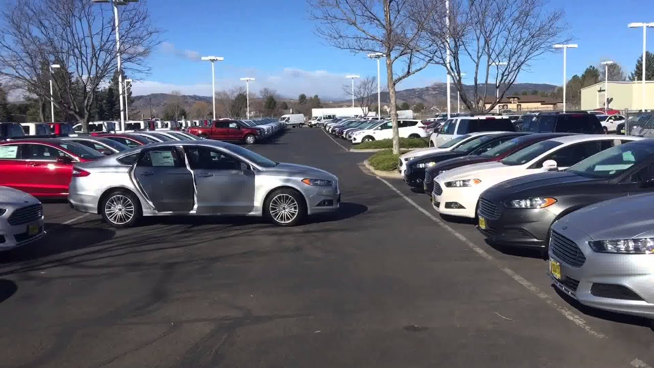 2016 ford fusion-spradley barr ford-fort collins, co - youtube