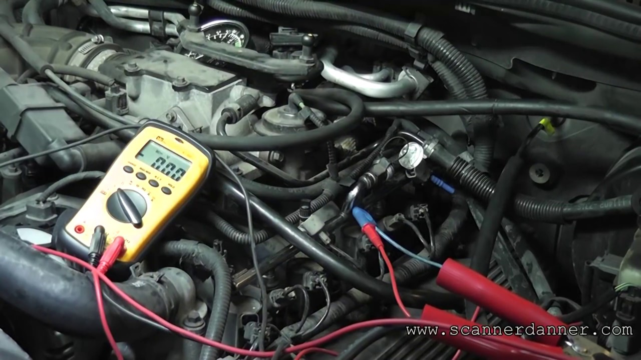 93 dodge dakota wiring diagram rc airplane servo how to test a fuel injector circuit with basic tools open control wire youtube