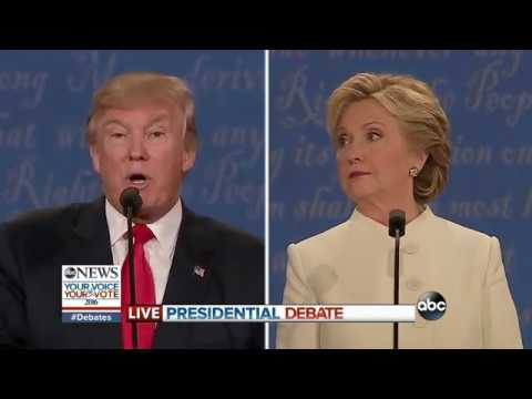 Third Presidential Debate 2016 | Clinton, Trump on Growing the Economy