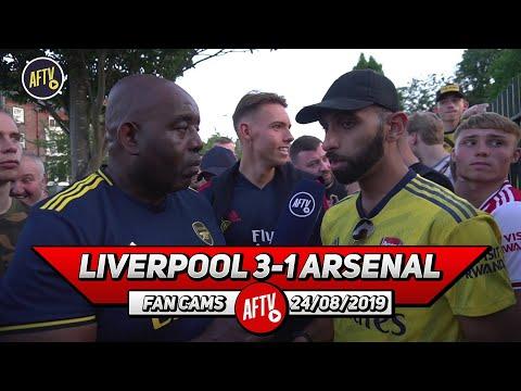 Liverpool 3-1 Arsenal   David Luiz Got Spun For Fun By Salah!! (Moh)