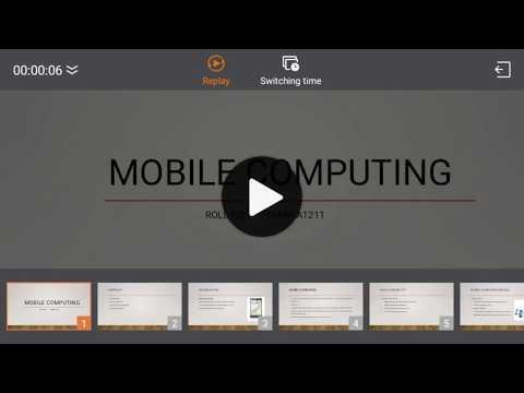 Mobile Computing Presentation