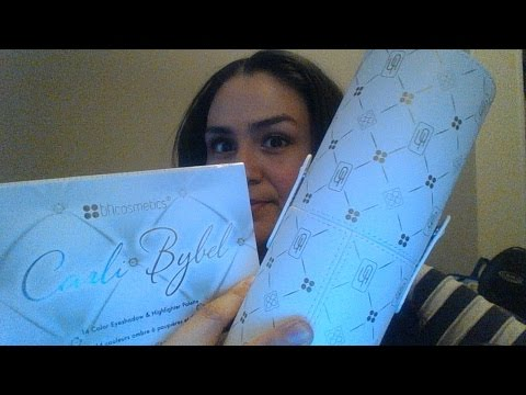 First impression on Carli Bybel's palette and BH cosmetic brushes!!!