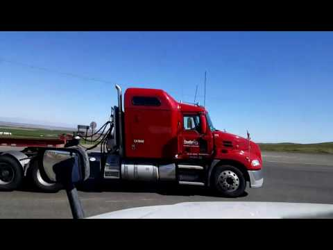 Bigrigtravels Live! - Avenal to Buttonwillow, California - Interstate 5 - March 1, 2017