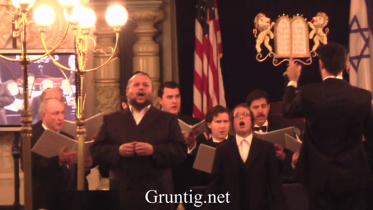 Child Soloist Sings With Chazan Helfgot