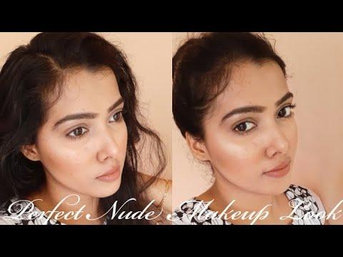 easy nude makeup look beginners friendly kerala beauty