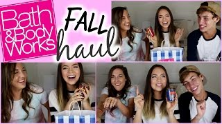 FALL HAUL: Bath & Body Works! (ft. thatsojack & Lexie Lombard)