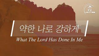 약한 나로 강하게 What The Lord Has Done In Me | 스캇 브래너 Scott Brenner | Official Lyric Video