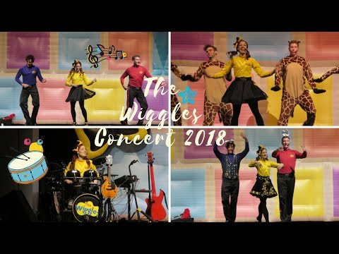 THE WIGGLES CONCERT 2018 + PICTURES