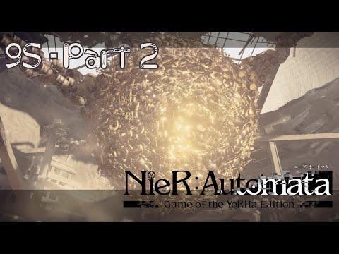 Nier Automata  PC Gameplay Walkthrough Part 2  9S POV