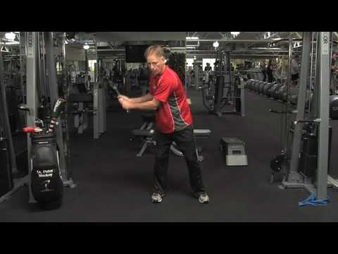 Golf Swing Exercises by San Diego Chiropractor Dr. Mackay Isometric.mov