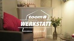 DIY: Kaminkonsole |toom Baumarkt
