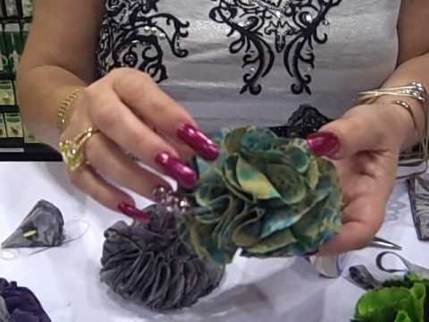 Flower Frill Templates - YouTube