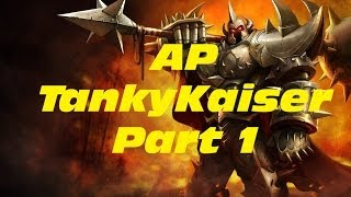 [Build Guide] How To Play Mordekaiser AP Tank 3v3 [Season 4] - [1/2] STRONG? | League of Legends
