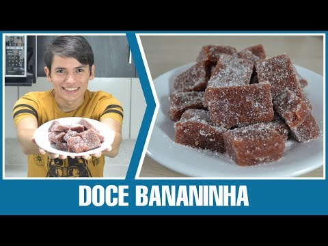 Como Fazer - Doce Bananinha 3 Ingredientes (Doce de Banana)