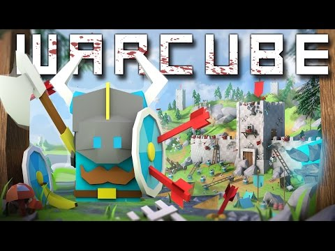 Warcube - BECOMING THE STRONGEST CUBE! Insane Fort Deathmatch! - Let's Play Warcube Gameplay Part 1