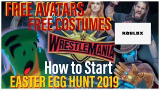 ROBLOX Easter Egg Hunt 2019 and WWE Event 2019