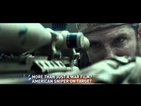 'American sniper' getting high marks