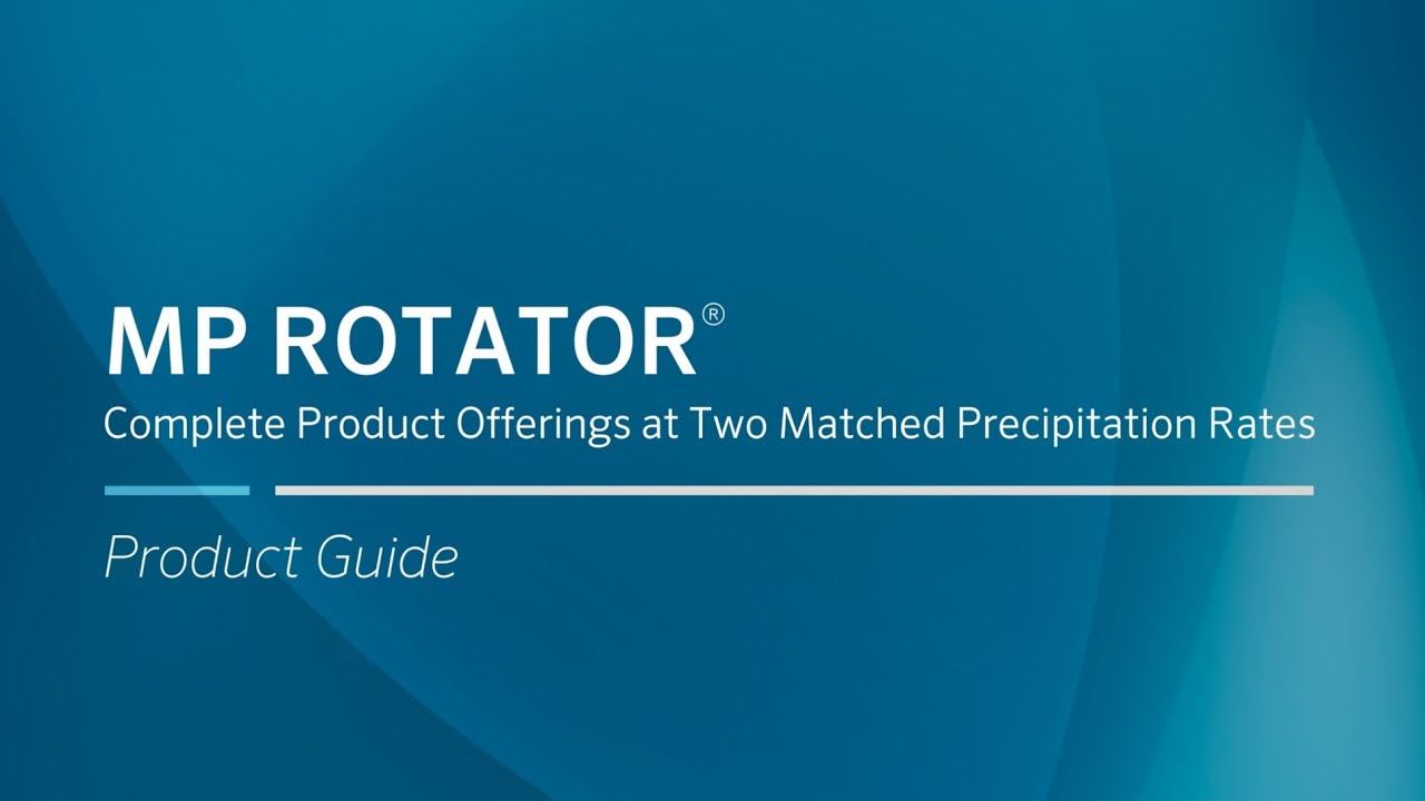 MP Rotator   Hunter Industries