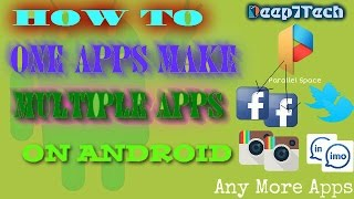 How To make Double apps on android (install one apps and make Multiple apps)| Mazzako Technology