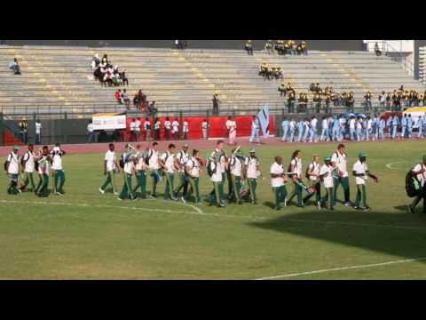 OpeningCeremony: AUSC Region 5 Games Luanda Angola  & Soccer
