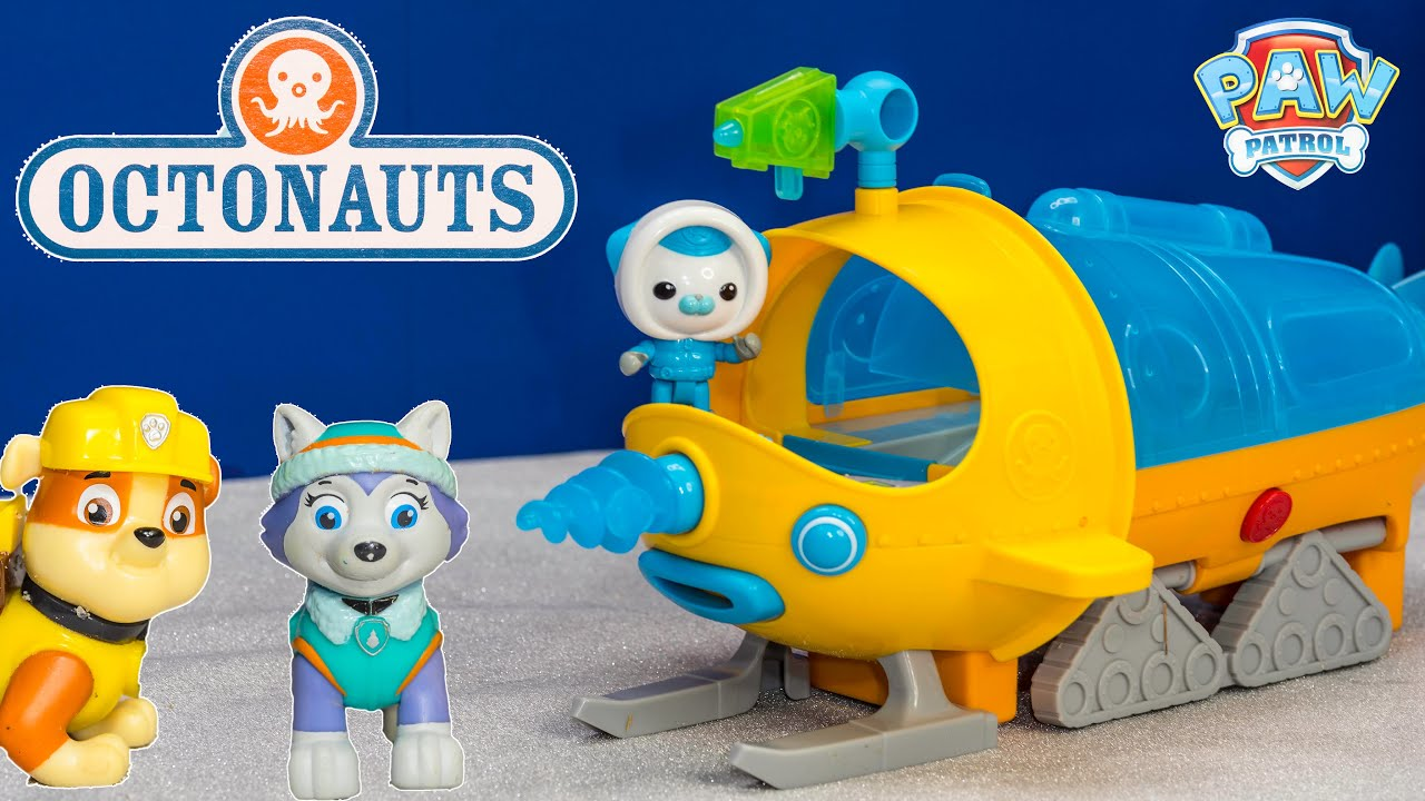 Unboxing The Octonauts Gup S Vehicle Toy Review Youtube
