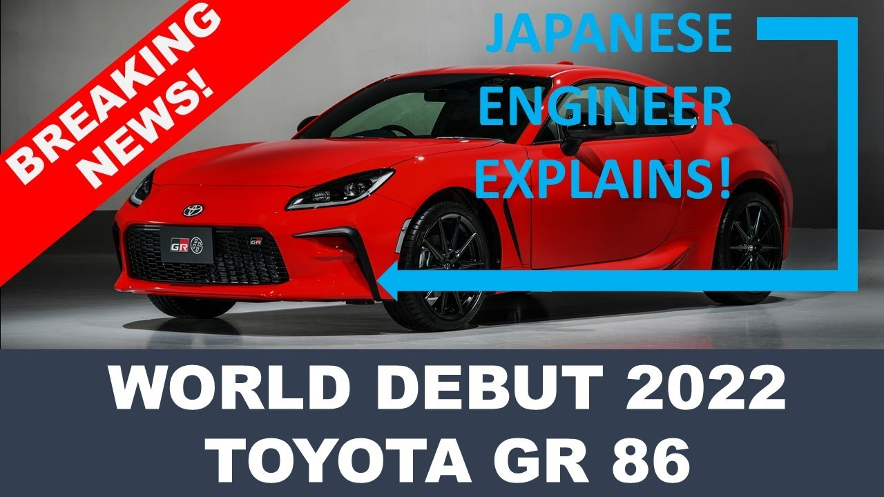 BREAKING NEWS! TOYOTA INTRODUCES THE 2022 GR 86 - World Debut of the Highly Anticipated Sports Coupe