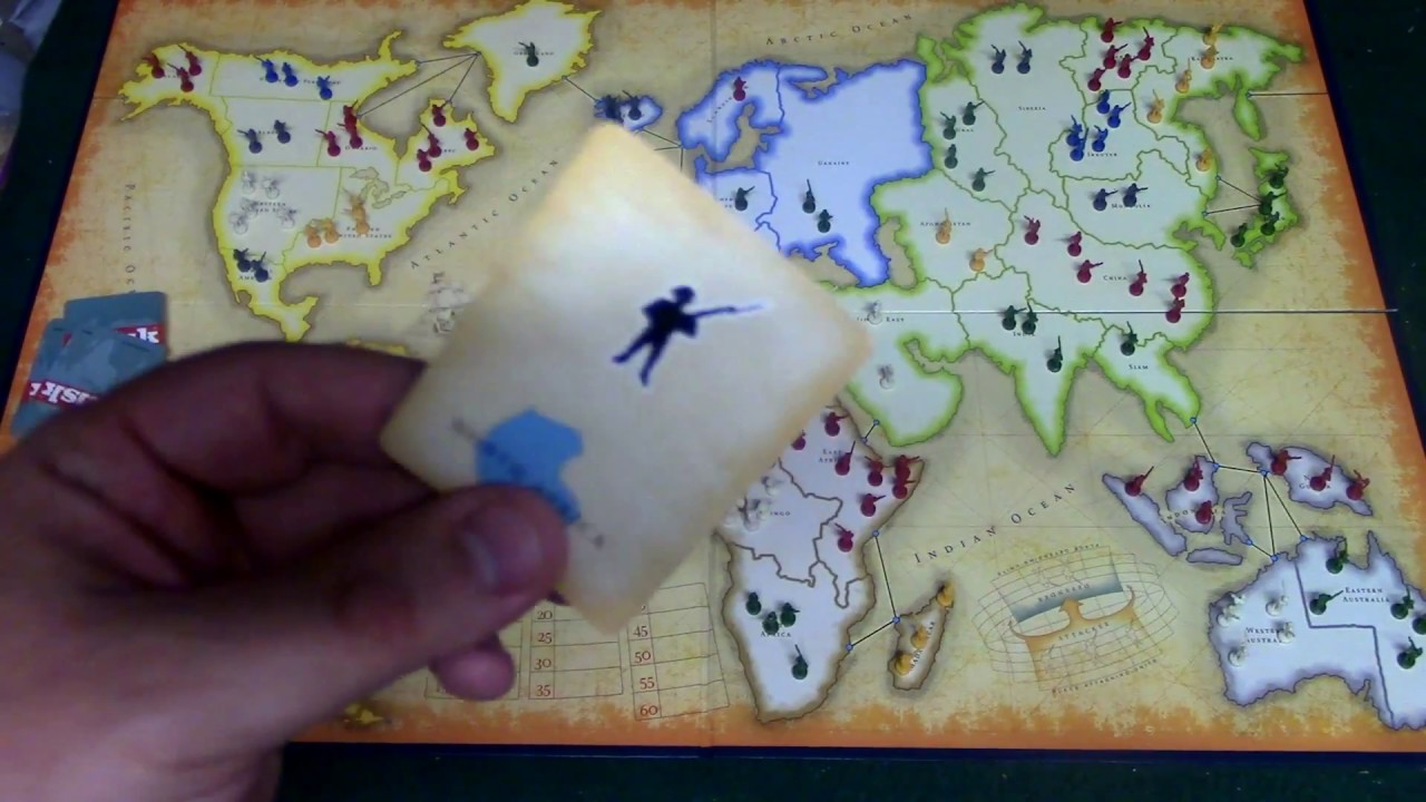 how to play risk the board game with 2 players
