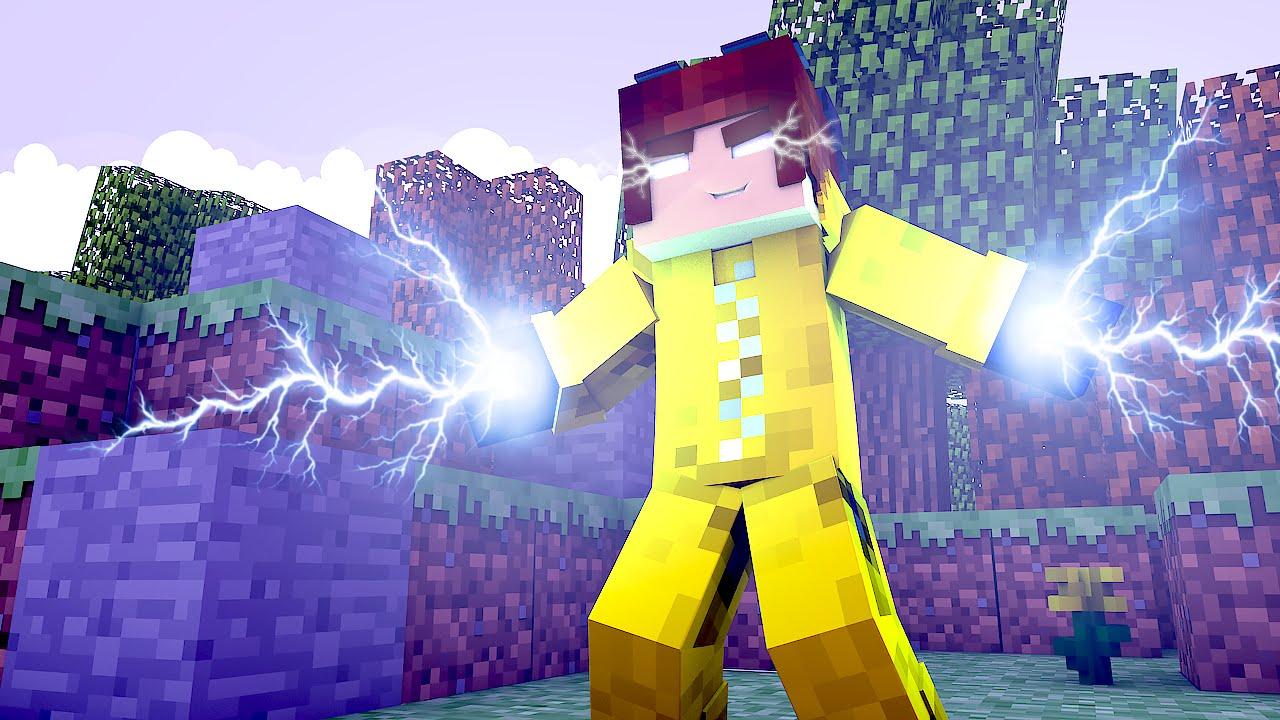 Minecraft Os Cientistas O Poder Da Energia YouTube - Skins para minecraft pe cientista