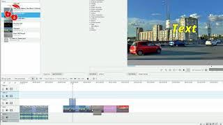 Timeline в программе Kdenlive for Windows, часть 1